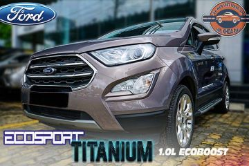 Ford Ecosport 1.0L Titanium Ecoboost Bản Full Options